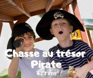 Chasse au trésor pirate à télécharger