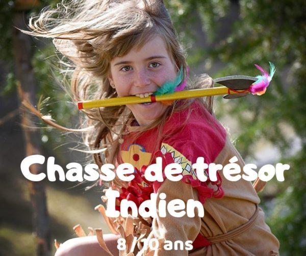 chasse au trésor indien à imprimer