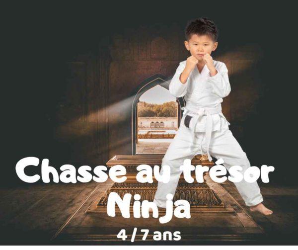 chasse au trésor ninja à télécharger